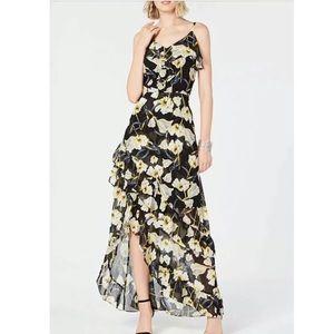 INC International Concepts Hi Lo Ruffle Dress